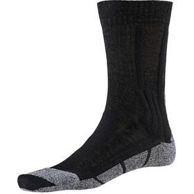 X-Socks Trek Silver Chaussettes Femme, opal black/dolomite grey melange